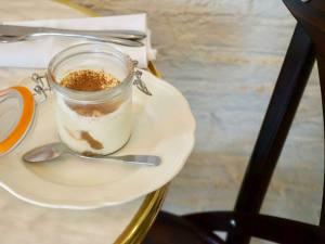 Bocca, Italian trattoria Marseille (pudding)