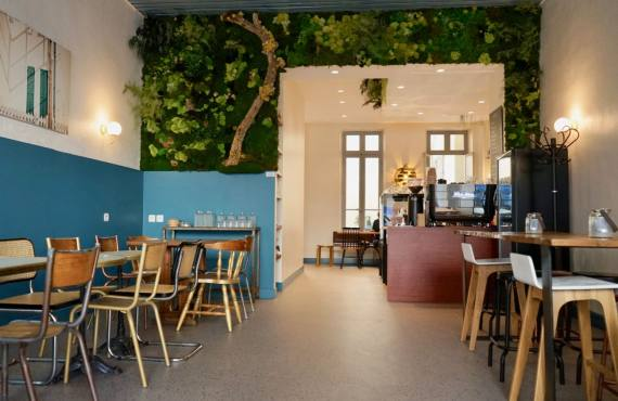 Why nit us coffee, cantine végétale et café de spécialité à Marseille