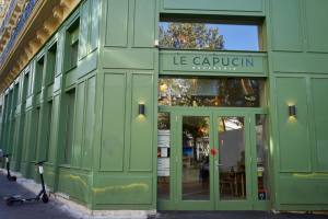 Le Capucin, brasserie provençale on La Canebière in Marseille (frontage)