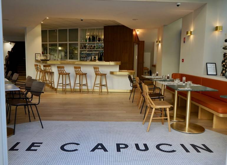 Le Capucin, brasserie provençale sur La Canebière à Marseille (entrée)