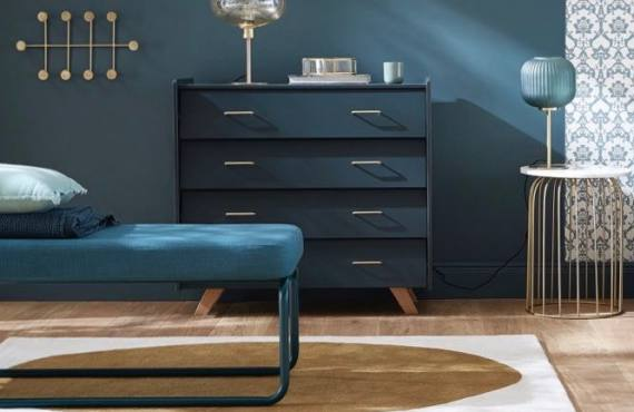 Collaboration collection mobilier Maison Mirbel x Cyrillus (banc)