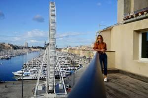 Le Quai, hôtel sur le Vieux-Port de Marseille (terrasse)