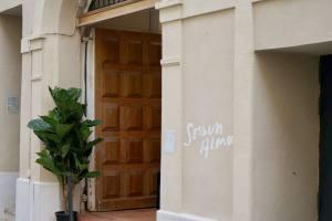 Sessun Alma, Concept store in Marseille (the entrance)