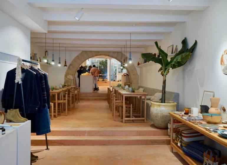 Sessun Alma, Concept store art de vivre à Marseille (entrée)
