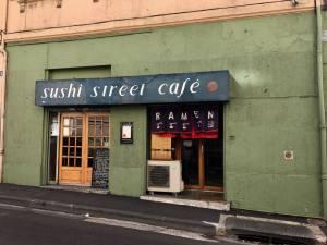 Sushi street Cafe, restaurant japonais à Marseille
