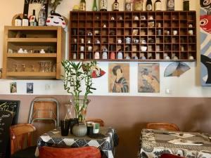 Sushi street Cafe, Japanese restaurant in Marseille (interior)