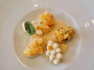 Une Table au sud, restaurant gastronomique sur le Vieux-Port de Marseille (dessert)