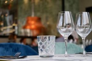 Boccascena, trattoria and pizzeria, Marseille (table setting)
