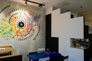 Fun Funk, coffee shop and cantine in Belsunce (interior)