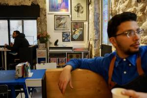 Fun Funk, coffee shop and cantine in Belsunce (Marseille)