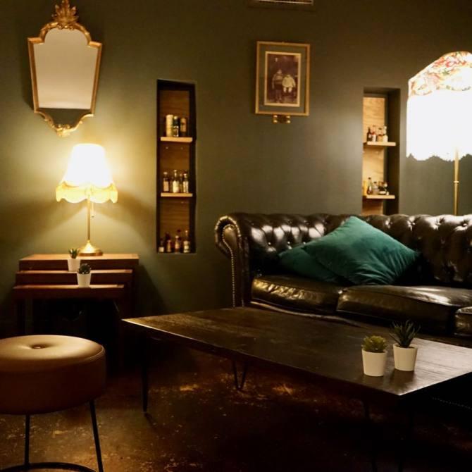 Le Barjaquer, bar à vins et cocktails à Marseille (salon)