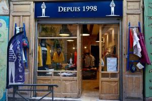 Le Marseillais, Fabric design, Marseille (store front in the Panier)