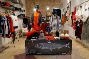 Le Marseillais, créateur textiles made in Marseille (intrieur boutique)