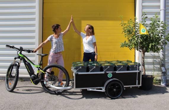Les Alchimistes, collecte de déchets organiques à Marseille (respon