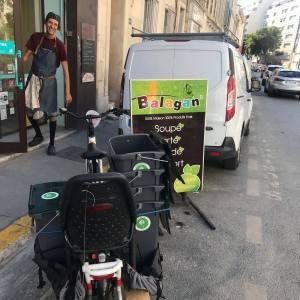 Les Alchimistes, collecte de déchets organiques à Marseille (balagan)