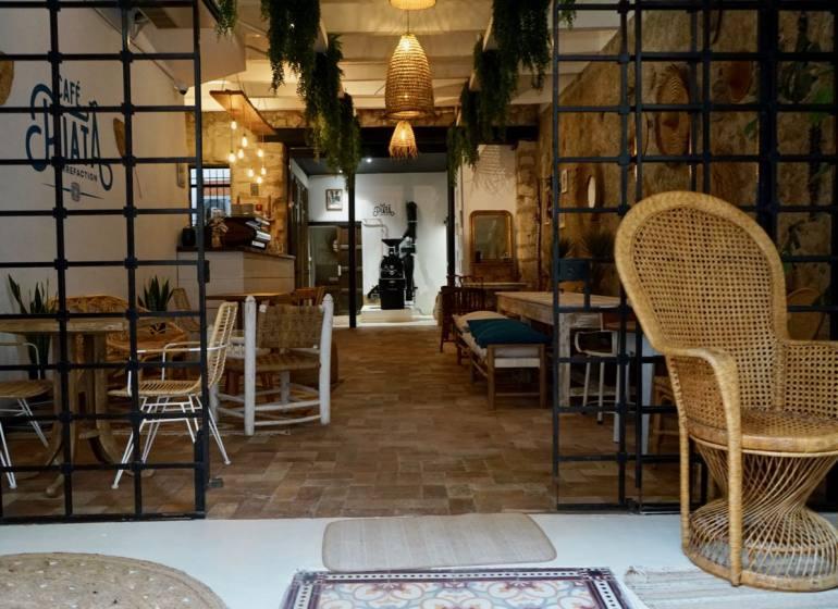 Café Piata, coffee shop et torréfacteur artisanal à Marseille (salle)