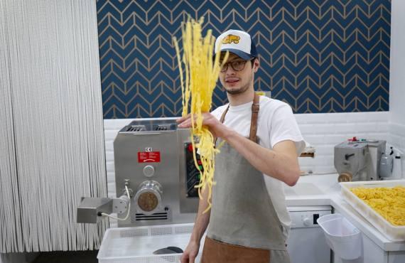 Coquillettes et Fusilli, fabrique de pâtes artisanales à Marseille