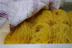 Coquillettes et Fusilli, fabrique de pâtes artisanales à Marseille (spaguetti)