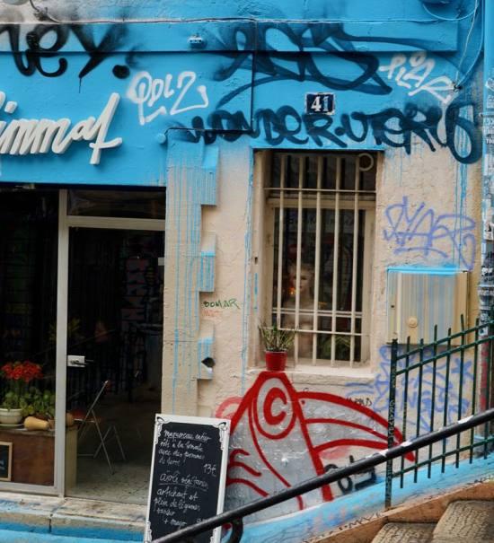 La laiterie marseillaise, fromagerie urbaine à Marseille (devanture)