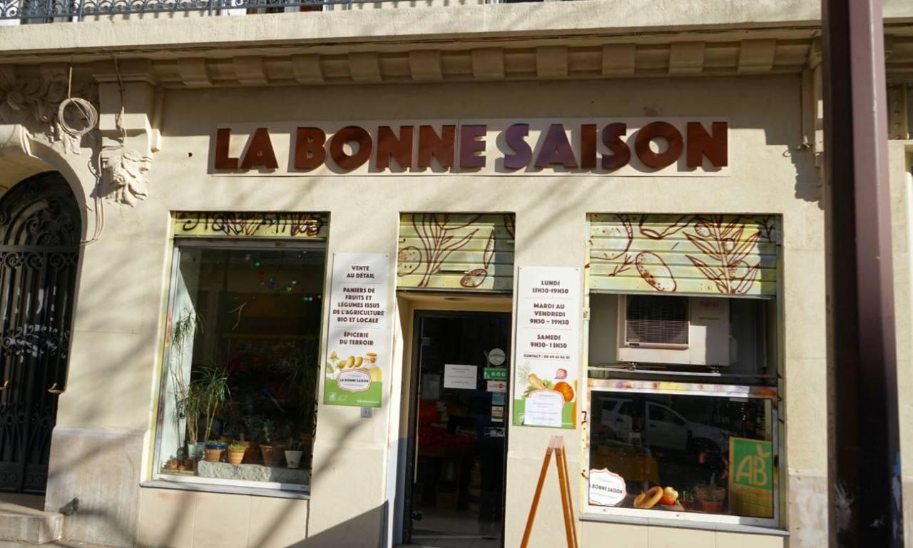 la Bonne Saison, épicerie bio à Marseille