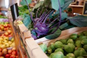 la Bonne Saison, organic grocers in Marseille (vegetables)