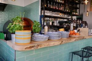Cacio et pepe, restaurant italien et pizzeria place du 4 septembre à Marseille (comptoir)