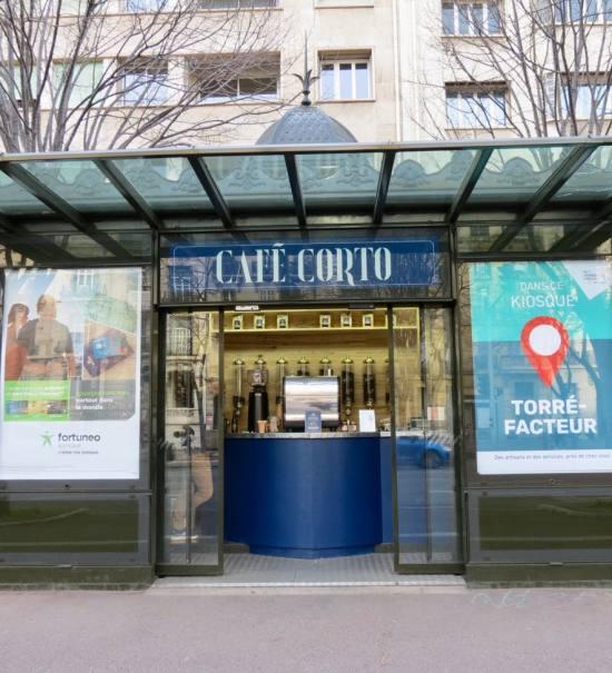 Café Corto - Torrefacteur et cafetier à Marseille (Kiosque Prado)