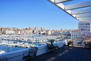 Now Coworking, location de bureaux sur le Vieux-Port de Marseille (terrasse)