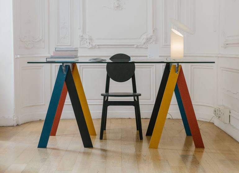 Rinku-Design, créateur de mobilier sur mesure à Marseille (Tréteaux)