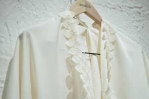 Sessun Oui, collection de robes de mariée (encolure)