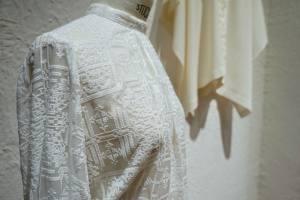 Sessun Oui, collection de robes de mariée (broderie)