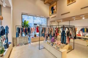 Sunchild bazaar, boutique de mode enfants à Marseille (intérieur)