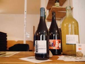 Pour, la cave à vins naturels s de Nathalie Cornec (cuvées)