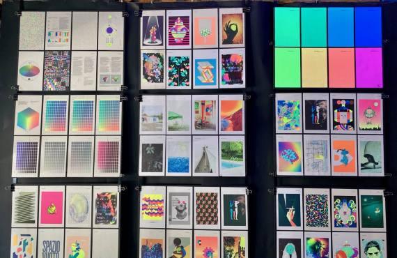L'imprimerie, espace d'exposition dans l'imprimerie la Platine à Marseille