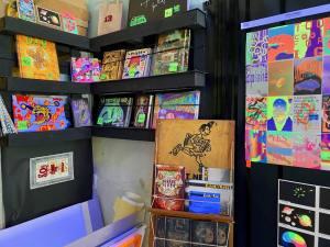 L'imprimerie, espace d'exposition dans l'imprimerie la Platine à Marseille (boutique)