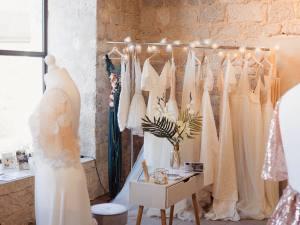 Alma real, creatrice de robe de mariées à Marseille (Showroom)