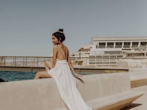 Alma Real, créatrice de robes de mariées à Marseille (catalans)