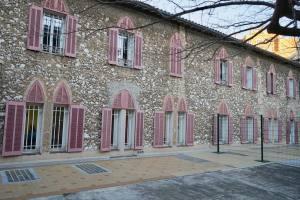 Couvent de la Cômerie, lieu culturel animé par Montévidéo dans le quartier Breteuil à Marseille