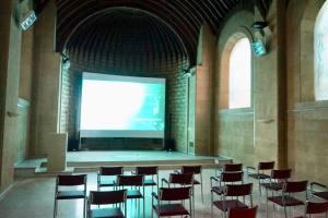Couvent de la Cômerie, cultural parc in Marseille (chapelle interior)