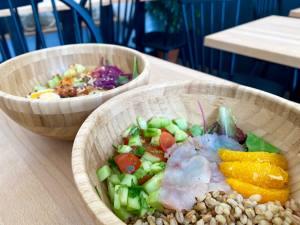 Kos, fast good scandinave dans le quartier de la Joliette à Marseille (salades)