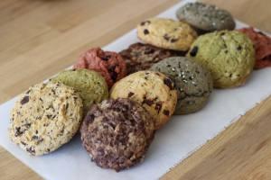 Aux Voisins: pâtisseries, plats cuisinés et service traiteur vegetarien et vegan (cookies)