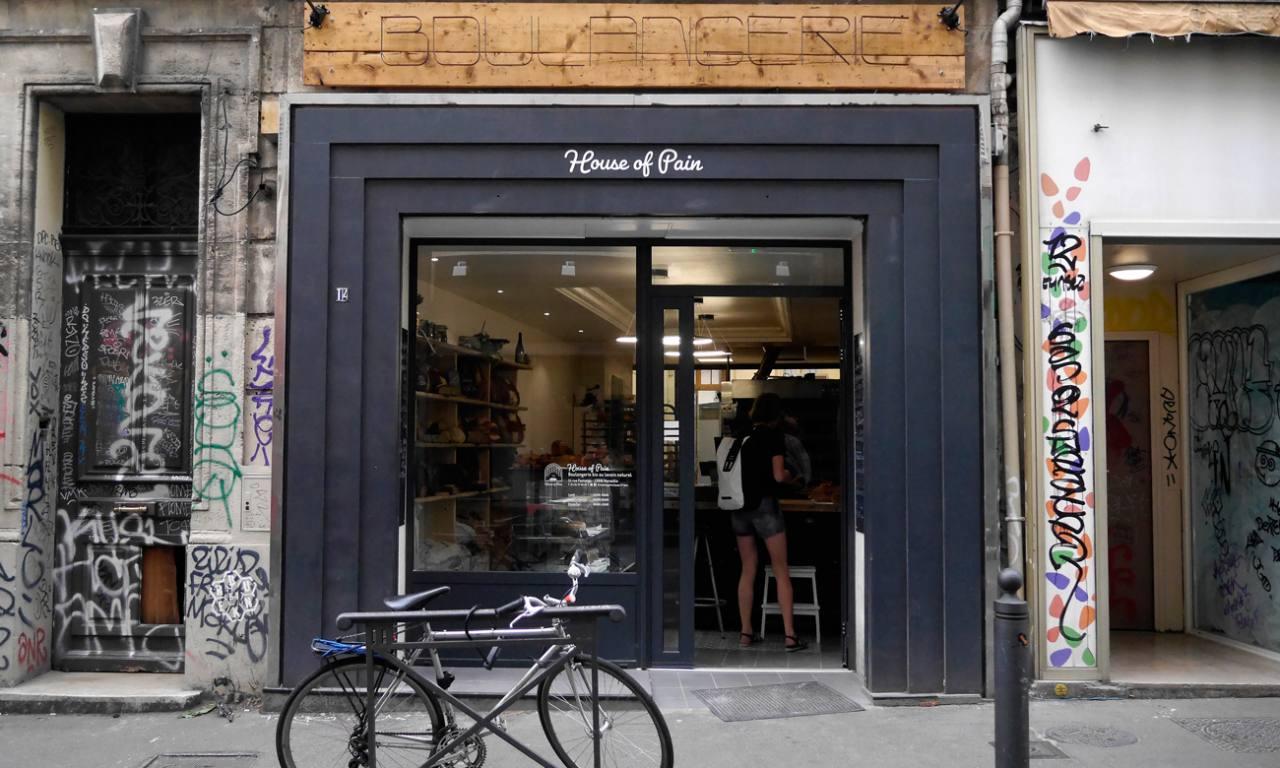 House of Pain, boulangerie artisanale à Marseille (devanture)