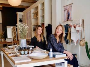 N°6, concept-store mode et design eco-responsable par Neatsche et LilNa (Tereza et Clemence)