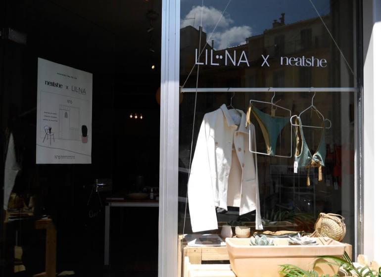 N°6, concept-store mode et design eco-responsable par Neatsche et LilNa (devanture)