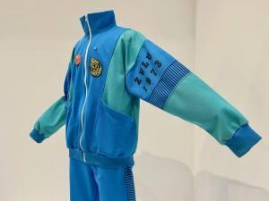 Vêtement modèle, exposition autour de 5 vêtement icônique de la mode au Mucem à Marseille (Jogging)