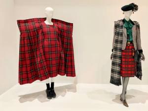 Vêtement modèle, exposition autour de 5 vêtement icônique de la mode au Mucem à Marseille (kilt Expo)