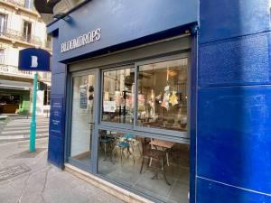 Bloomdrops, salon de thé et boutique d'objets et article de deco eco-responsable à Marseille (facade)