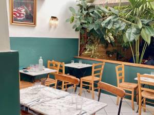 La femme du Boucher, meat restaurant, Marseille (interior)
