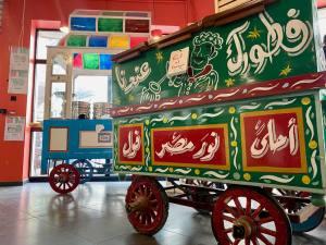 Le Souk de Nour d'Egypte in Marseille (carriages)