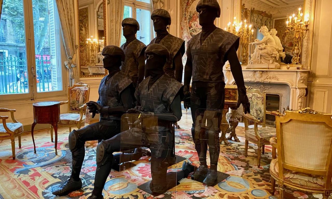Ma,ifesta, traits d'union,la Maison Musee Grobet 5the keepers par Arseny Zhilyaev)